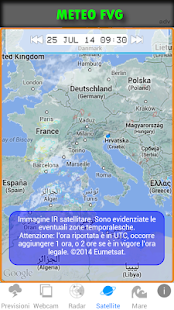 METEO FVG Screenshot