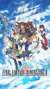 FINAL FANTASY DIMENSIONS II v1.0.1 (Full Paid) [Patched] APK 1