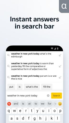 Yandex Browser (alpha) modavailable screenshots 6
