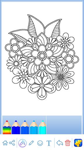 Mandala: Coloring for adults  screenshots 7