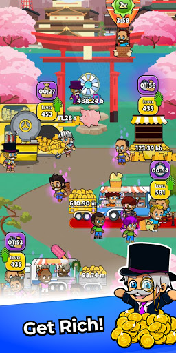 Idle Foodie Empire Tycoon - Cooking Food Game screenshots 2