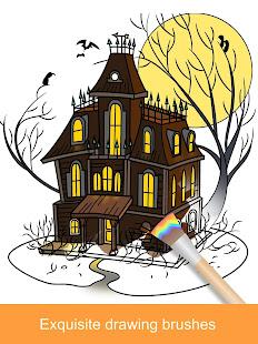2021 Halloween Coloring Books