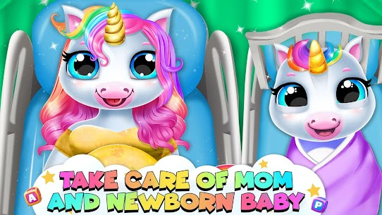 Pregnant Unicorn Mom And For Pc (Windows & Mac)   How To Install Using Nox App Player 1