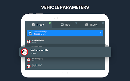 RoadLords - Free Truck GPS Navigation android2mod screenshots 19