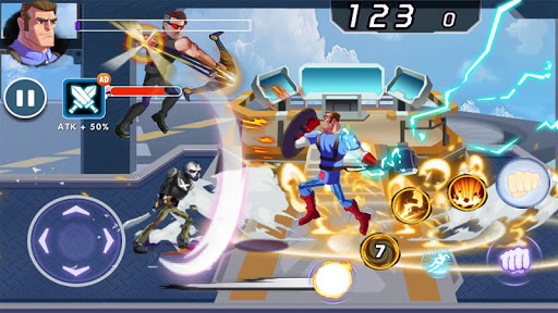 Captain Revenge - Fight Superheroes screenshots 17