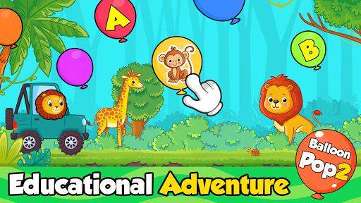 balloon pop : toddler games for preschool kids screenshot 1