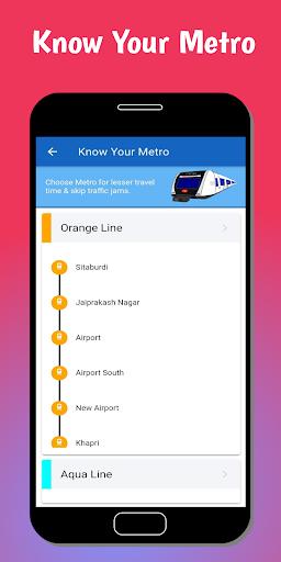 Nagpur Metro u0928u093eu0917u092au0942u0930 u092eu0947u091fu094du0930u094b - Route, Guide & Map  screenshots 7