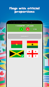 Countries, capitals and flags of the world Guess the countries, capitals and flags 0.4 Mod + Data Download 3