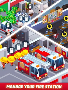 Idle Firefighter Tycoon APK , Fire Emergency Manager APK Download 18