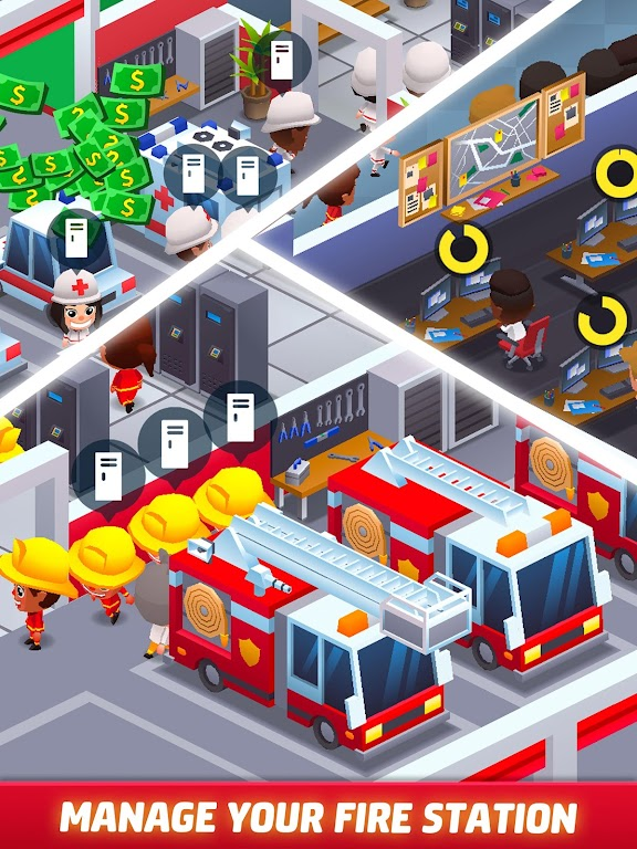 Idle Firefighter Tycoon - Fire Emergency Manager  poster 17