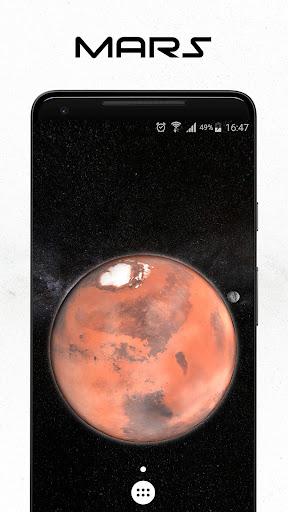 Space 3D Live Wallpaper apktram screenshots 2