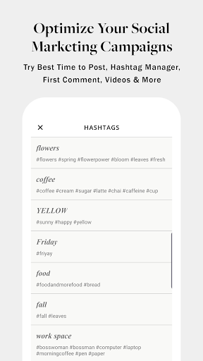 PLANOLY: Schedule Posts for Instagram & Pinterest  Screenshots 6
