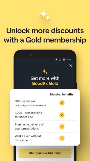 GoodRx: Prescription Drugs Discounts & Coupons App apktram screenshots 6