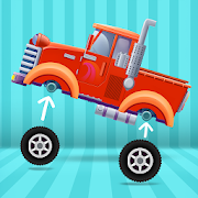 Truck Builder - Truck Simulator Games for kids