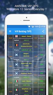 Betting TIPS VIP : DAILY PREDICTION 9.9.18 Screenshots 1