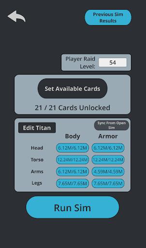 TT2 Raid Optimizer 1.12.0 screenshots 2