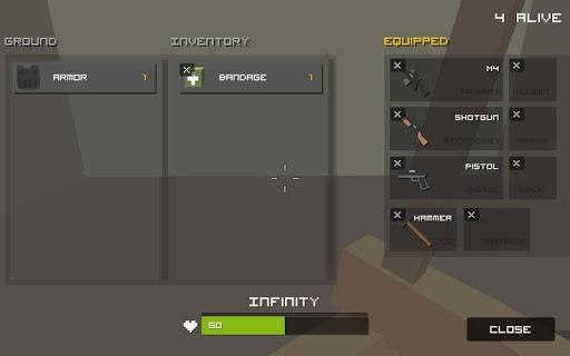 Grand Pixel Royale Battlegrounds Mobile Battle 3D  screenshots 22