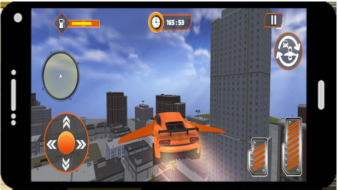 Flying Car Modern Simulator 2021 screenshot 1
