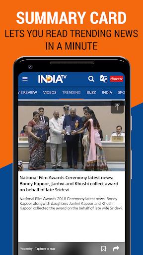 India TV - Latest Hindi News Live, Video android2mod screenshots 5