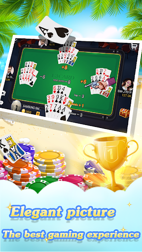 Chinese poker - Pusoy, Capsa susun, Free 13 poker 1.0.0.23 Screenshots 2