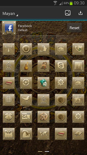 Next Launcher Mayan Theme For PC Windows (7, 8, 10, 10X) & Mac Computer Image Number- 12