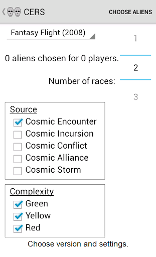 Cosmic Encounter Race Selector For PC Windows (7, 8, 10, 10X) & Mac Computer Image Number- 5