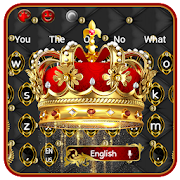 Royal Luxury Crown Keyboard Theme
