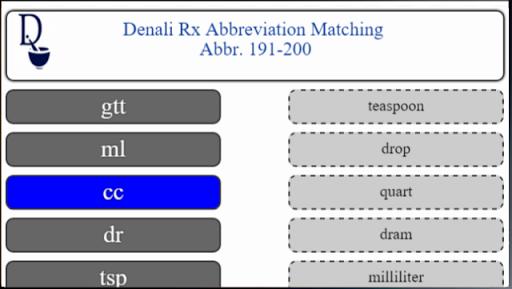 top 200 medical abbrev demo screenshot 2