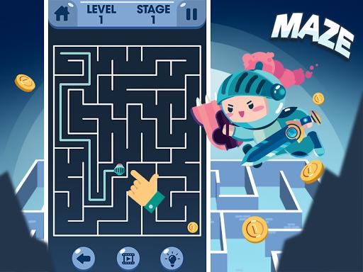 Maze - Games Without Wifi modiapk screenshots 1