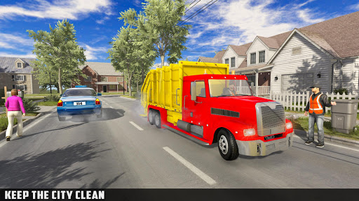 Modern Trash Truck Simulator - Free Games 2020  screenshots 3