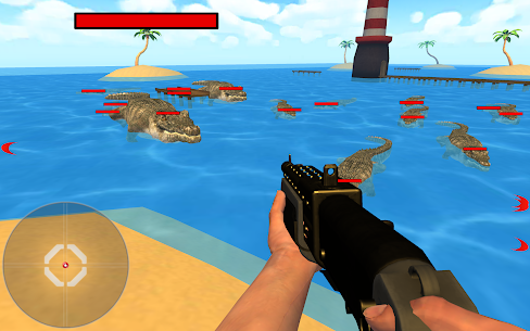 Crocodile Hunter 3d : Hungry Crocodile Attack Game Online Hack Android & iOS 1