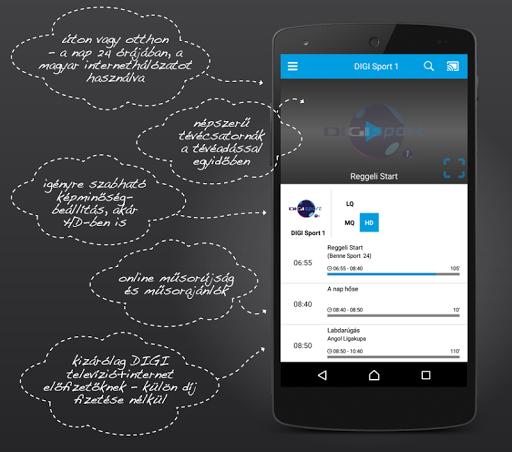 DIGI Online HU modavailable screenshots 1