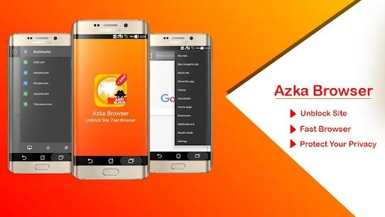 Azka Browser v30.0 Mod APK 1