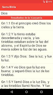 Santa Biblia Gratis 4.7 Screenshots 6
