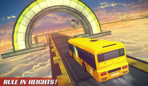 Télécharger Impossible Bus Sky King Simulator 2020 mod apk screenshots 2