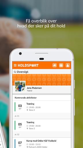 Holdsport - Hurtig tilmelding & kontingentbetaling 6.6.348 screenshots 5