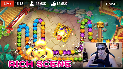 Marble Dash-Bubble Shooter filehippodl screenshot 3