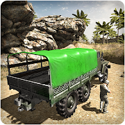 US Army War Truck Driver 3D