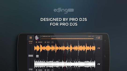 edjing PRO – Music DJ mixer MOD (Paid) 1