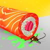 스시 롤 3D (Sushi Roll 3D)  -  음식 게임 ASMR 대표 아이콘 :: 게볼루션