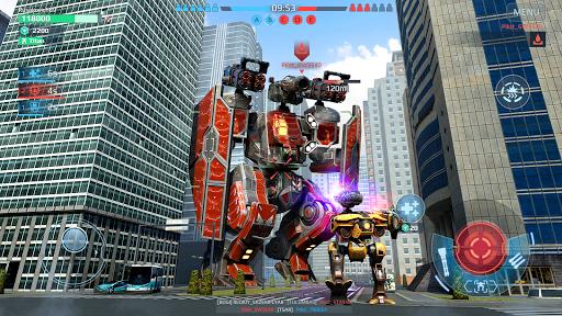 Code Triche War Robots. Batailles multijoueur tactiques 6v6 APK MOD (Astuce) screenshots 1