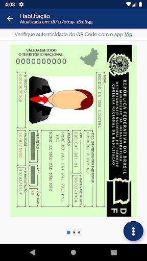 Carteira Digital de Tru00e2nsito android2mod screenshots 3