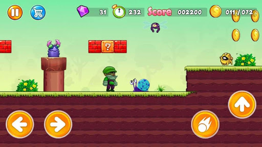 Super Pino Go : Jungle Man Adventure APK MOD (Astuce) screenshots 4