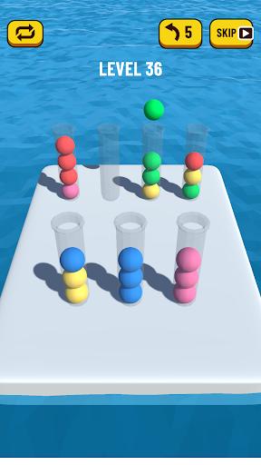 Ball Sort Puzzle 3D 0.7 screenshots 5
