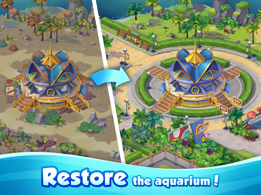 Aqua Blast: Fish Matching 3 Puzzle & Ball Blast 1.4.2 screenshots 11