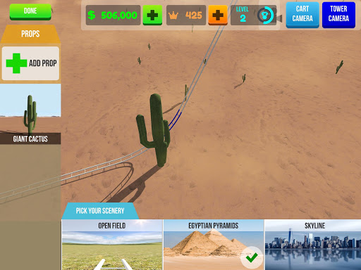 Roller Coaster Builder: Create your RollerCoaster 2.2.3 screenshots 11