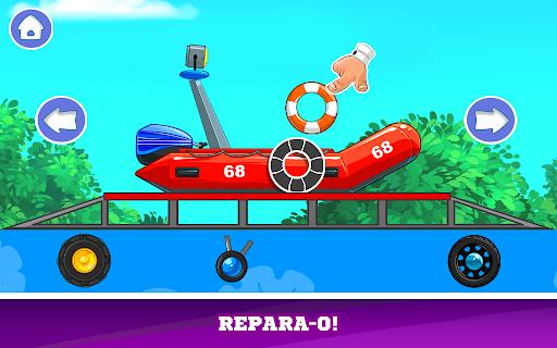 Kids Cars Games! Build a car and truck wash!  screenshots 5