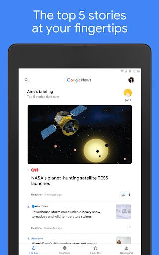 Google News - Daily Headlines android2mod screenshots 7