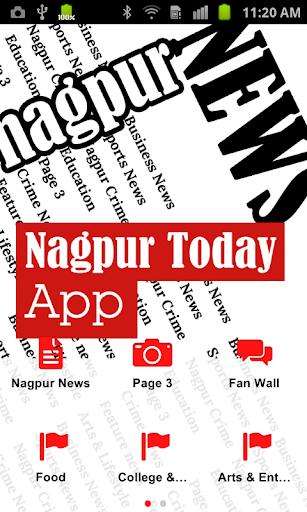 nagpur today news screenshot 1