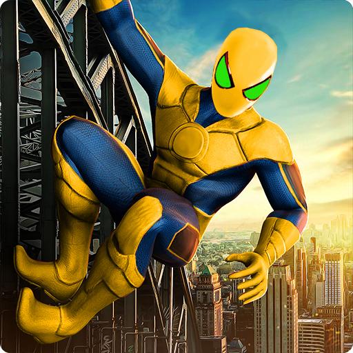 Amazing Spider Stickman Hero: Ninja Rope Hero 3D